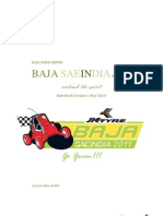Baja Saeindia 2011 Rulebook