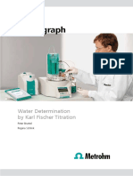 Monograph KF Titration