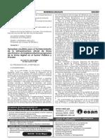 Decreto Supremo Nº 026-2016-PCM-firma Electrónica