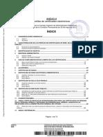 Perfiles de Certificados Electrónicos - España