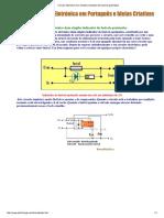 Circuito Eletrónico Dum Simples Indicador de Fusíveis Queimados