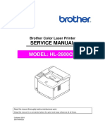 Brother HL-2600cn Service Manual.pdf