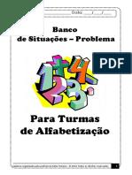 Banco de Situacoes Problema Para Turmas de Alfabetizacao