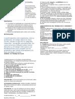 Reglamento de La Clase de Español_2015