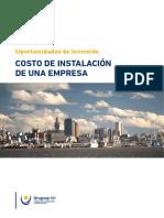 Informe de Costos 2017 URUGUAY