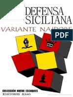 Defensa Siciliana Variante Najdorf Escrito por Pedro Cherta.pdf