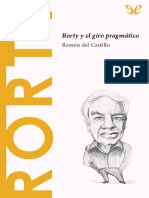[Descubrir la filosofia 38] Castillo, Ramon del - Rorty y el giro pragmatico [35524] (r1.0).epub