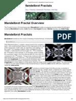 Fractal Science Kit - Mandelbrot Fractal Overview