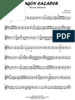 Dragón Hunter - Violin I