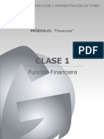 FINANZAS - FUNCION FINANCIERA