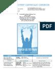 St. Timothy Parish Bulletin (July 25th, 2010)