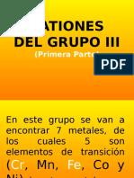 Cationes Grupo III