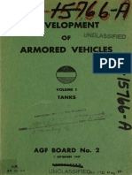 Development of armored vehicles