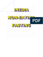 Inedia  non Eating Fasting