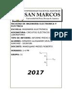 Informe Previo 5 Circuitos Electricos