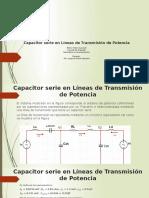 Capacitor Serie en Líneas de Transmisión de Potencia