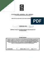 Auditoria Hidrocarburos Ecuador 2012