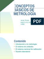 Conceptos de Metrología 2
