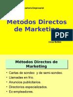 5.- Métodos Directos e Indirectos de Consultoría