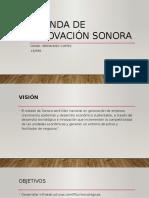 Agenda de Innovación Sonora y El Estado de Mexico