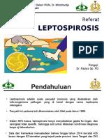 PPT referat leptospirosis
