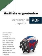 Análisis Ergonómico Acordeon de Juguete