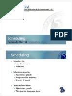 PX Scheduling