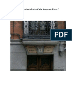 Casa de Abuela Luisa Calle Duque de Rivas 7