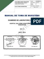 MANUAL TOMA DE MUESTRAS LABORATORIO CLINICO HGGB.pdf