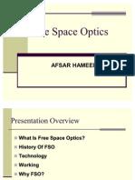 Afsar Free Space Optics