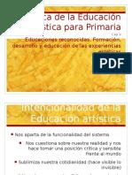 Didactica de La Educacion Artistica