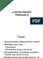 Ekonomi Industri 2 Ws Bs2011
