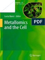Metallomics and the Cell (Banci, Lucia)