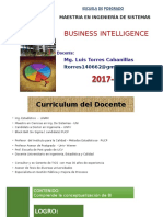 BUSINESS INTELLIGENCE SESION 1