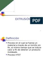 2.1 EXTRUSION---1° parte