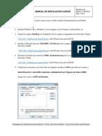 Manual de Insta Laci on Client e