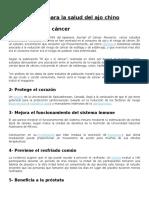 15 Beneficios Para La Salud
