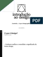 01 - O que e design
