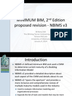 MINIMUM BIM, 2nd Edition proposed revision - NBIMS v3