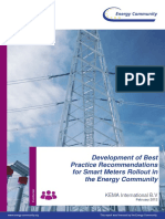 Development of Best Practices for Smart Metering Rollout