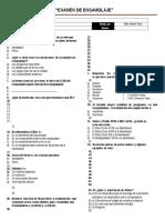 Examen de Ensamblaje