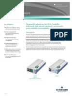 Emerson Network Power SCU Plus Datasheet