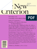 The New Criterion - November 2016
