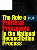 The Role of Political Prisoners in the National Reconciliation Process(in Burmese)