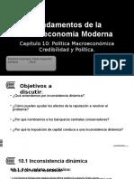 H10_ Politicas Macroeconomicas- Credibilidad y Politica