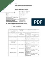 INFORME PSICOPEDAGÓGICO PROGRESO DANIEL .doc