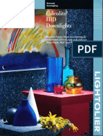 Lightolier Calculite HID Downlighting Catalog 1994
