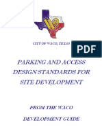 Parking Access Design Standards Handbook 2010