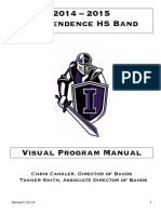 Marching Band Visual Manual