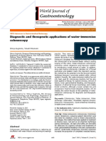 Diagnostic and Therapeutic Applications of Water-immersion Colonoscopy (RA 2015)